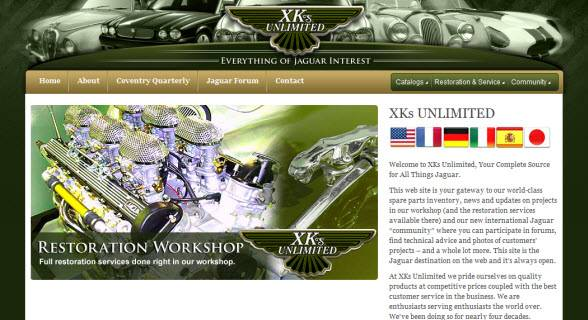 Web Design Project - XKs Unlimited