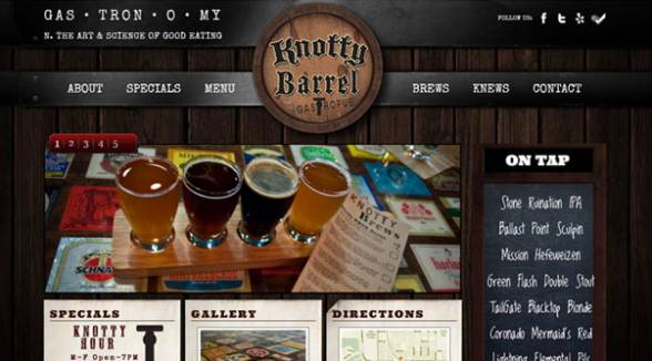 Web Design Project - Knotty Barrel